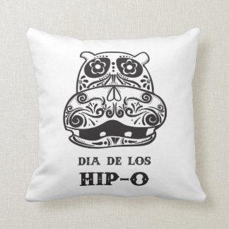 Dia de Los Hip-O Throw Pillow