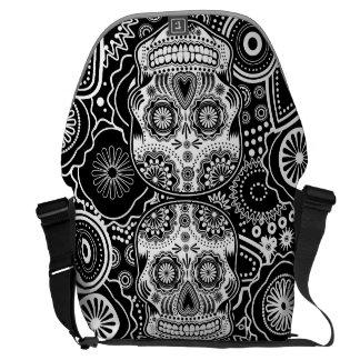 Dia De Los Muertes Sugar Skull Messenger Bag