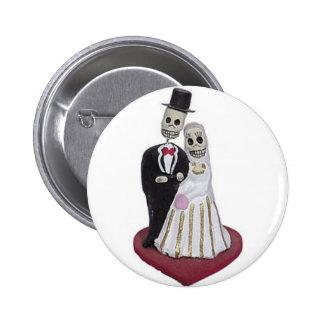 Dia de los Muertos 2 Inch Round Button