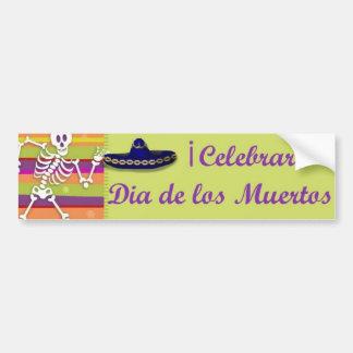 Dia de los Muertos bumpersticker Bumper Sticker