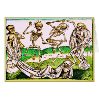 Dia De Los Muertos Card-Danse Macabre by Wolgemut Card