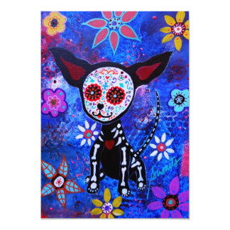 DIA DE LOS MUERTOS CHIHUAHUA - Customized Card