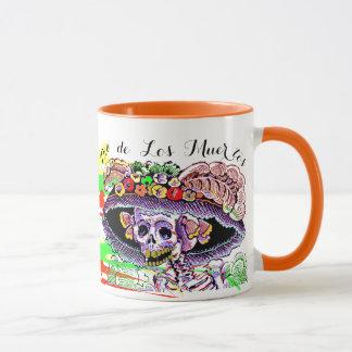 Dia de Los Muertos Day of the Dead Catrina Mug