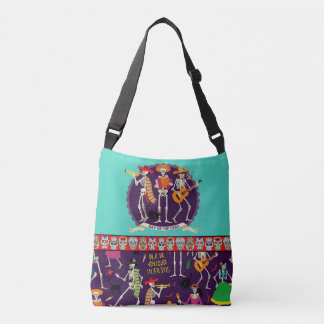 Dia de los Muertos (Day of the Dead) Crossbody Bag