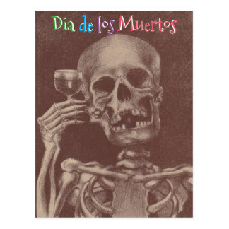 Dia de los Muertos Day of the Dead PC Postcards