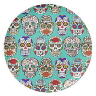 Dia de los Muertos (Day of the Dead) Plate