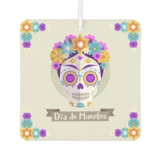Dia de los Muertos Day of the Dead skull masks Air Freshener