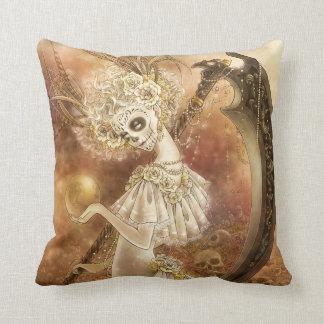 Dia de los Muertos Fantasy Pillow