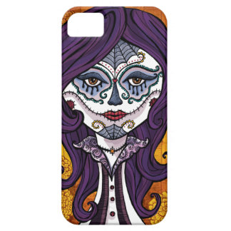 Dia de los Muertos iphone4 case-orange iPhone 5 Cases