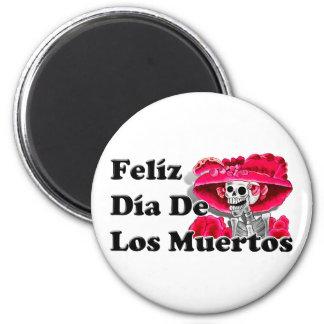 Dia De Los Muertos (La Catrina) Fridge Magnets