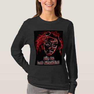 Dia De Los Muertos ladies long sleeve Shirt