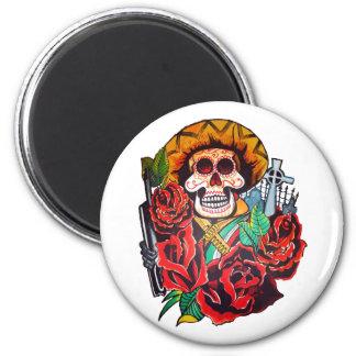 dia de los muertos fridge magnet