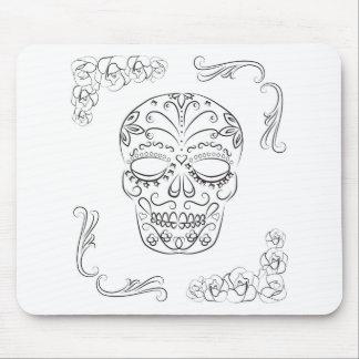 Dia de los muertos mouse pad
