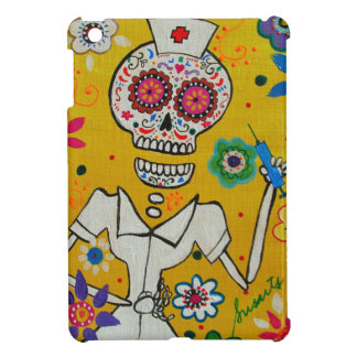 DIA DE LOS MUERTOS  NURSE BY PRISARTS iPad MINI CASES