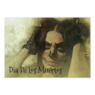Dia De Los Muertos Party Card