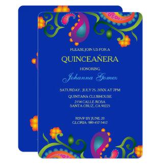 DIA DE LOS MUERTOS QUINCEAÑERA INVITATION