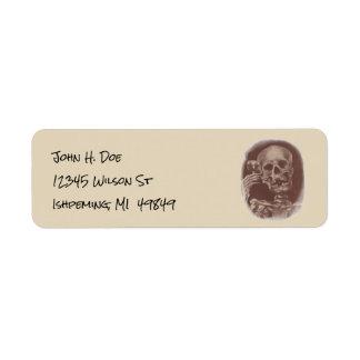 Dia de Los Muertos Return Address Labels