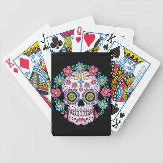 Dia de los Muertos Skull Bicycle Playing Cards