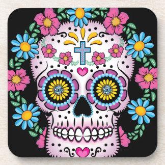 Dia de los Muertos Skull Coaster