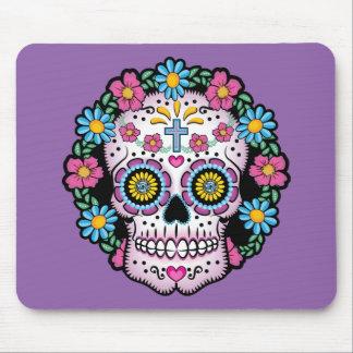 Dia de los Muertos Skull Mouse Pad