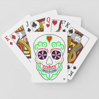 Dia de los Muertos Skull Playing Cards