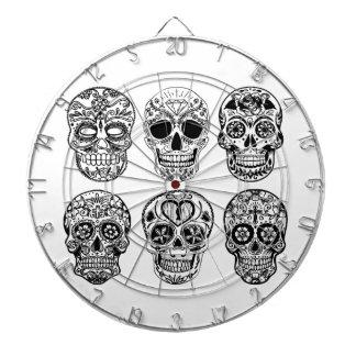 Dia de los Muertos Skulls (Day of the Dead) Dartboard