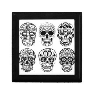 Dia de los Muertos Skulls (Day of the Dead) Gift Box