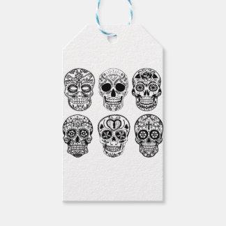 Dia de los Muertos Skulls (Day of the Dead) Gift Tags