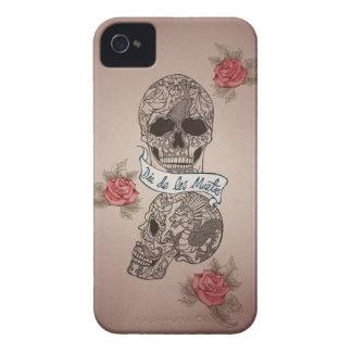 Dia De Los Muertos Sugar Skull Case-Mate iPhone 4 Case
