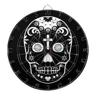 dia de los muertos sugar skull dartboards