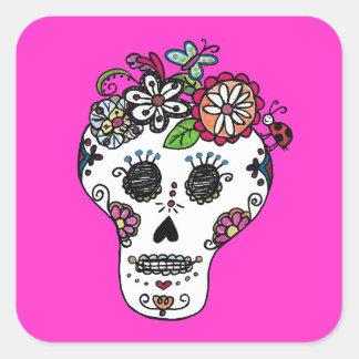Dia de Los Muertos, Sugar Skull Stickers
