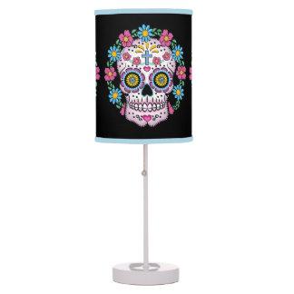 Dia de los Muertos Sugar Skull Table Lamp