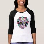 Dia de los Muertos Sugar Skull Tee Shirts