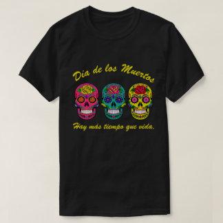 Día  de los Muertos Three Sugar Skulls Halloween T-Shirt