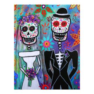 DIA DE LOS MUERTOS WEDDING CUSTOM LETTERHEAD