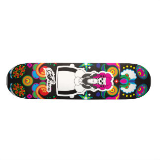 Dia De Lost Muertos (Day of the Dead) Skate Boards