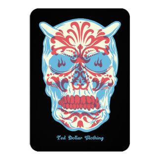 Dia of los muertos card