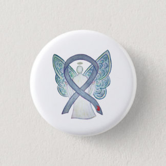 Diabetes Awareness Ribbon NIDDM Custom Pins