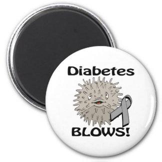 Diabetes Blows Awareness Design Magnet