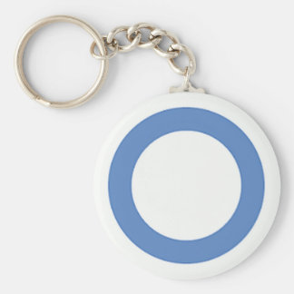 diabetes-blue-circle keychain