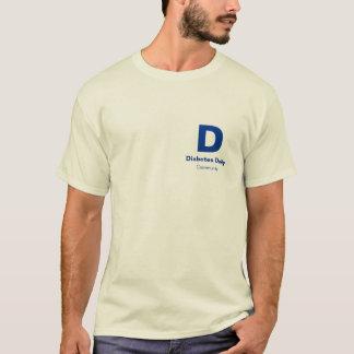 Diabetes Daily Light Color Men's Tees