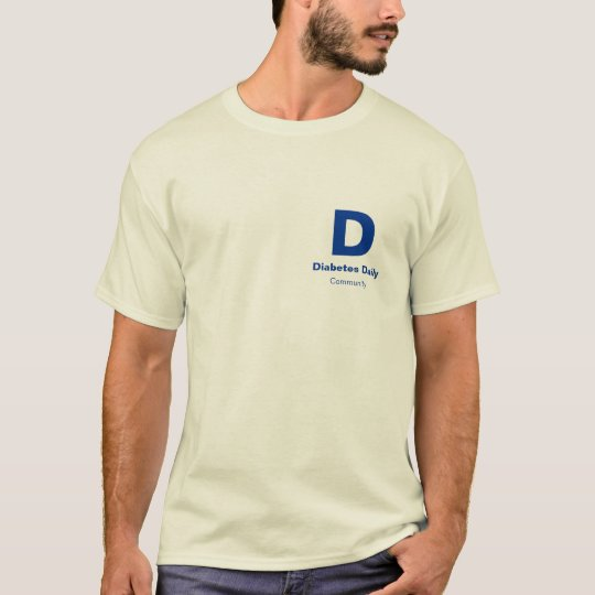 Diabetes Daily Light Colour Men's Tees