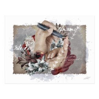 """""""Diabetes & Endocrinology"""" postcard"""