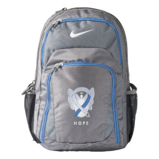 Diabetes IDDM Awareness Ribbon Angel Backpack