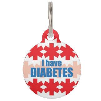 Diabetes Medical Alert ID Tag