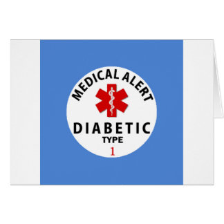 DIABETES TYPE 1 CARD