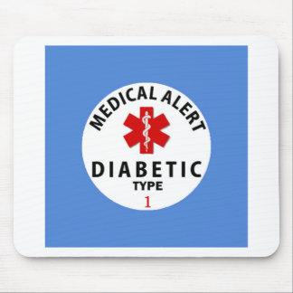 DIABETES TYPE 1 MOUSE PAD