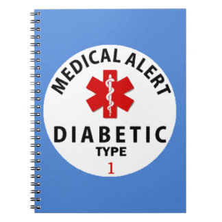 DIABETES TYPE 1 NOTE BOOK