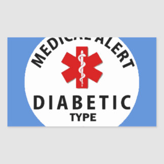 DIABETES TYPE 1 STICKER