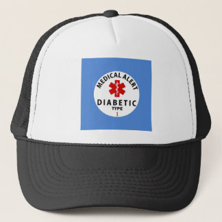 DIABETES TYPE 1 TRUCKER HAT